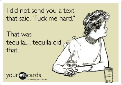 I did not send you a text