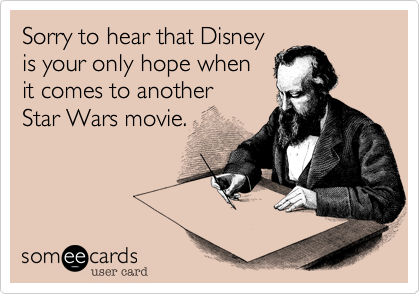 Sorry to hear that Disney 