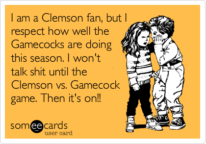 I am a Clemson fan%2C but I