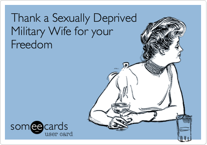 Thank a Sexually Deprived