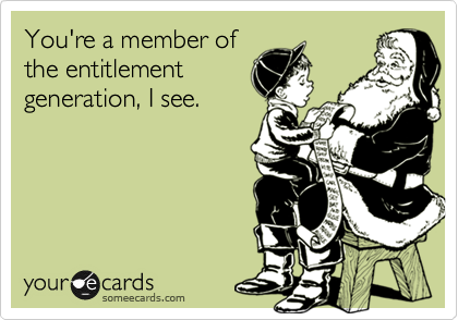 You're a member of