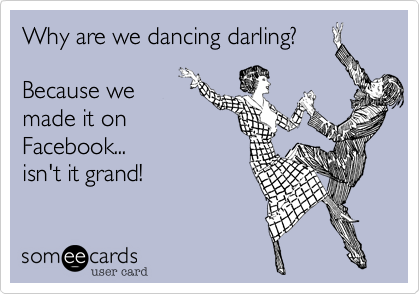 Why are we dancing darling%3F