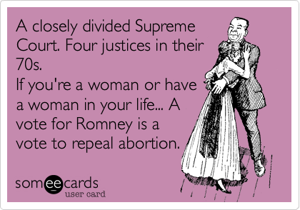 A closely divided Supreme 