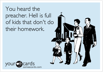 You heard the