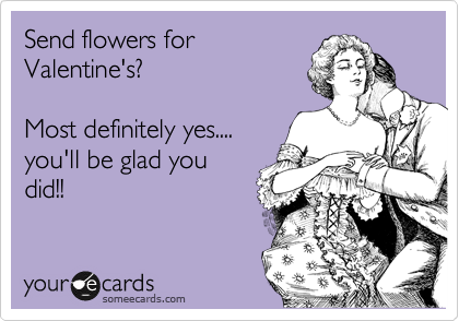 Send flowers for