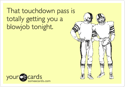 That touchdown pass is
