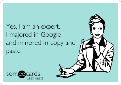 Yes, I am an expert. 