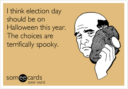 I think election day