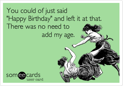 You could of just said 