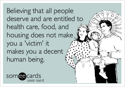Believing that all people