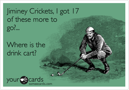 Jiminey Crickets, I got 17