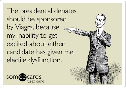 The presidential debates 