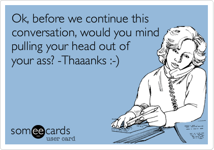 Ok, before we continue this