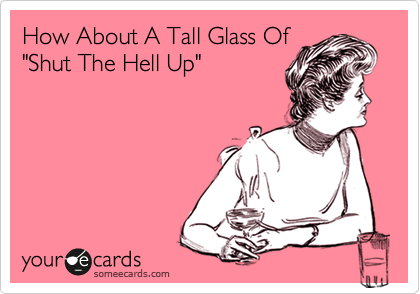 How About A Tall Glass Of