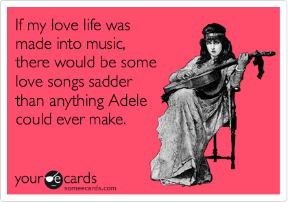 If my love life was