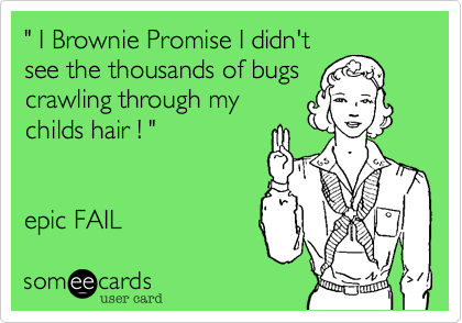 """ I Brownie Promise I didn't