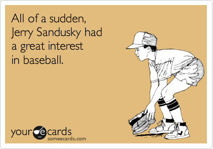 All of a sudden, 