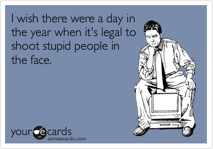 I wish there were a day in