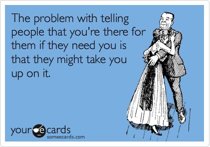 The problem with telling