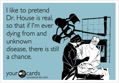 I like to pretend