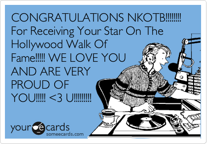 CONGRATULATIONS NKOTB!!!!!!!!