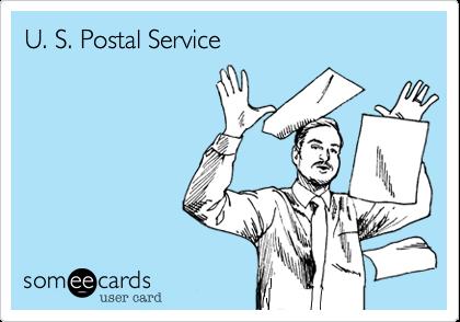 U. S Postal Service