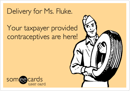 Delivery for Ms. Fluke.