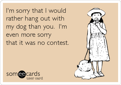 I'm sorry that I would 