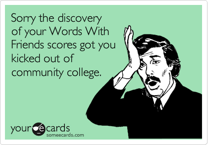 Sorry the discovery