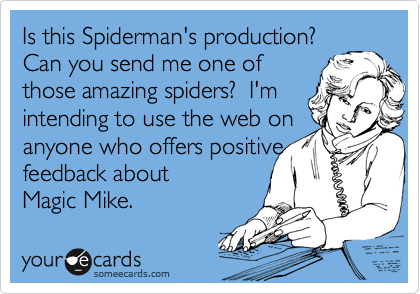 Is this Spiderman's production? 