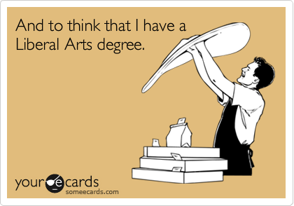 And to think that I have a