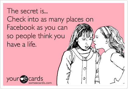 The secret is...