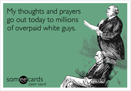 My thoughts and prayers 