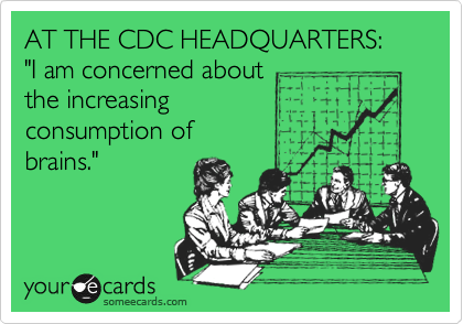 AT THE CDC HEADQUARTERS: