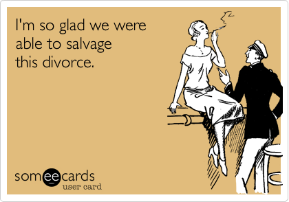 I'm so glad we were