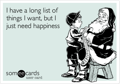 I have a long list of