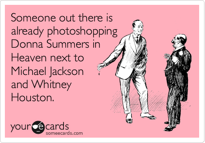 Someone out there is