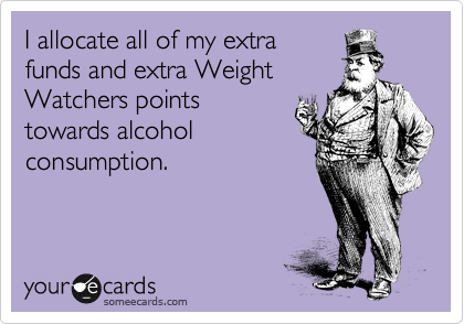 I allocate all of my extra 