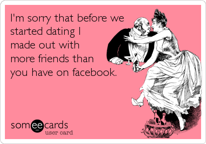 I'm sorry that before we