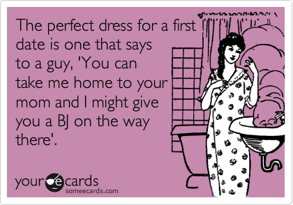 The perfect dress for a first 