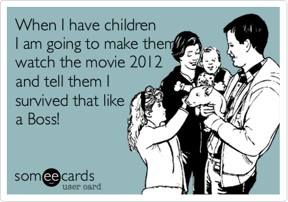 When I have children