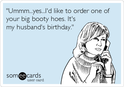 happy birthday cards for husband funny