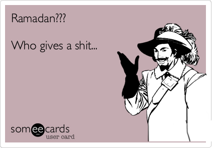 Ramadan???