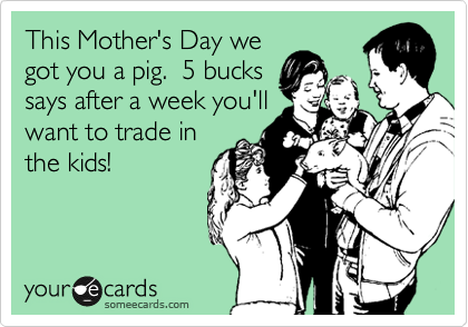 This Mother's Day we