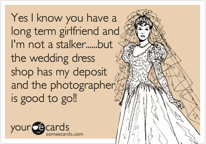 Yes I know you have a