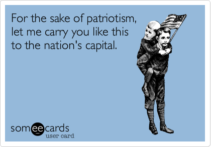 For the sake of patriotism%2C