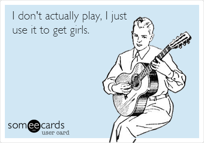 I don't actually play, I just use it to get girls.