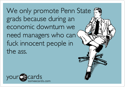 We only promote Penn State