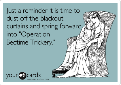 Just a reminder it is time to