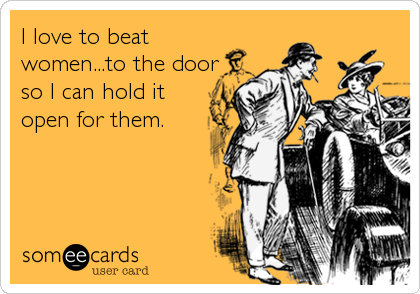 I love to beat